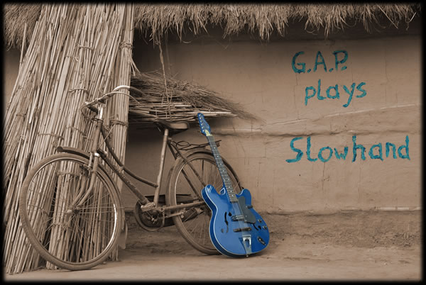 CD Cover - G.A.P. plays Slowhand